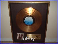 Pat Benatar Riaa Gold Record Award In The Heat Of The Night Heartbreaker