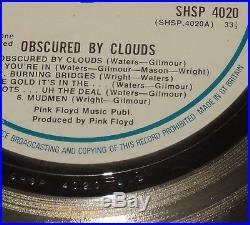 Pink Floyd Silver Gold Record No Riaa No Bpi Presentation Disc 1974 Award