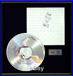 Pink Floyd The Wall Gold Record Platinum Award Disc Lp Album