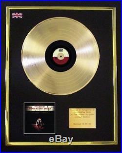 Plan B Defamation Of Strickland Banks CD Gold Disc Record Display Award Vinyl