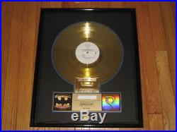 Prince BATMAN RIAA gold record award Batman LP DC COMICS Warner Brothers 1990