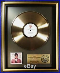 Prince Controversy LP Gold RIAA Record Award Warner Brothers Records