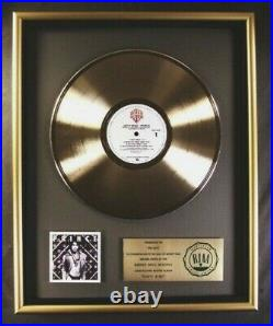 Prince Dirty Mind LP Gold RIAA Record Award Warner Brothers Records