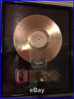Prince Gold Record Sales Award RIAA
