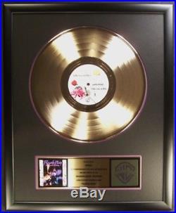 Prince Purple Rain Soundtrack LP Gold Non RIAA Record Award Warner Brothers