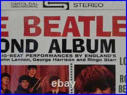 Promo Copy Unopened Vinyl The Beatles' Second Album With Drill Hole Mint Rare