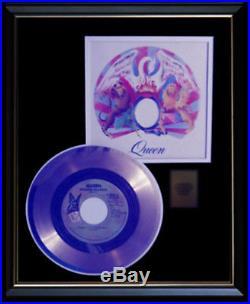 Queen Bohemian Rhapsody Rare Gold Record Disc 45 RPM Rare Award Disc