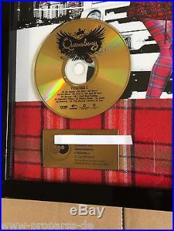 Queensberry Gold Award Volume I goldene Schallplatte aus 2009
