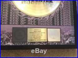 RARE Mudavyne End of all Things to Come RIAA Gold Record Award Authentic