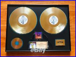 RARE The Rolling Stones Voodoo Lounge RIAA Certified Gold Record Award 1994