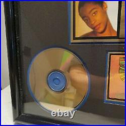 REGINA BELLE gold album award stay with me columbia records RIAA award
