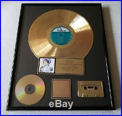 RIAA Award Oleta Adams Circle of One with 12 Gold Record/CD & Cas. RIAA Award
