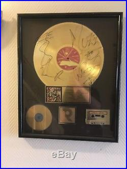RIAA Gold record award Living Colour Time's up