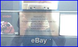 RIAA STEVIE NICKS The Other Side Of The Mirror Gold Record Sales Award