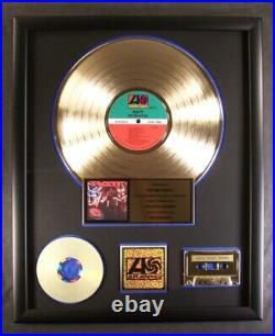 Ratt Detonator LP, Cassette, CD Gold Non RIAA Record Award To Stephen Pearcy
