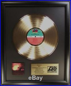 Ratt Out Of The Cellar LP Gold Non RIAA Record Award Atlantic Records