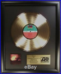 Ratt Out Of The Cellar LP Gold Non RIAA Record Award Atlantic Records ertertr