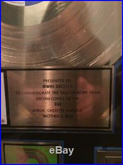 Red Hot Chili Peppers Official RIAA Gold Record Award. Mint. EMI Records
