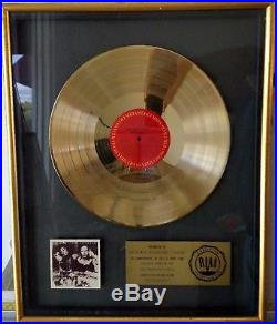 Riaa Art Garfunkel Breakaway Gold Record Award