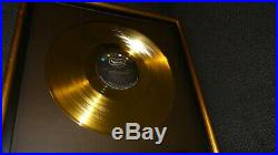 Riaa Gold Record Award Presented to The Beatles No Bpi Disc A Hard Days Night