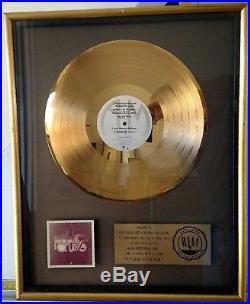 Riaa Pablo Cruise A Place In The Sun Gold Record Award