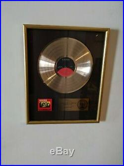 Riaa The Doors Gold Record Award La Woman Great Collectible