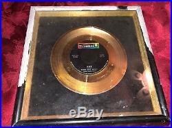 Riaa Three Dog Night One 45 Gold Record Sale Award