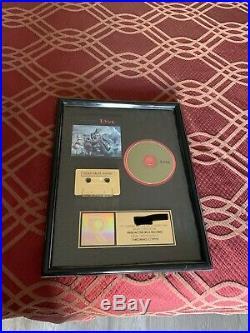 Riaa gold record award Live
