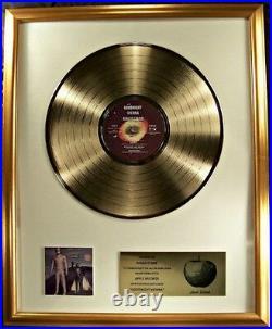 Ringo Starr Goodnight Vienna LP Gold Non RIAA Record Award Apple Records