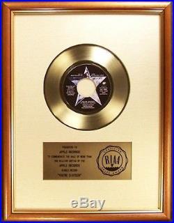Ringo Starr You're Sixteen 45 Gold RIAA Record Award Apple Records To Apple