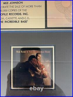 Rob Base The Incredible Base Gold Record RIAA Sales Award (Extremely Rare)