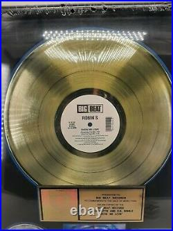 Robin S Show Me Love Authentic RIAA Gold Record Sales Award Plaque 1993 SEALED
