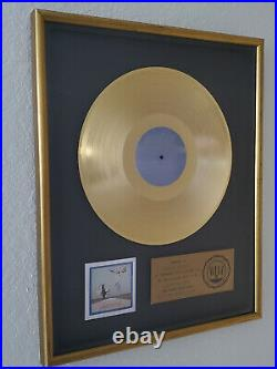 Rolling Stones RIAA Gold Record Award for'Get Yer Ya Ya's Out' London Records