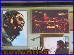 SEVENDUST Home RIAA Gold Record Award Home Chris White Metal Rock Band