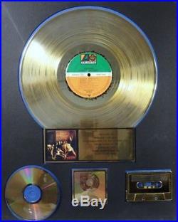 SKID ROW RIAA GOLD 500,000 Record Sales Award ATLANTIC RECORDS'SLAVE TO GRIND