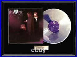STEVIE NICKS WILD HEART GOLD SILVER PLATINUM TONE RECORD LP ALBUM NON RIAA award