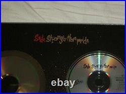 Sade Gold Platinum stronger than pride No Bpi Disc Record Cd Presentation Award