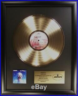 Scorpions Blackout LP Gold Non RIAA Record Award Mercury Records