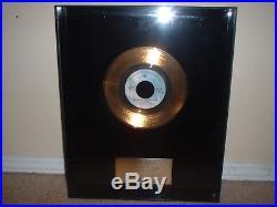 Seals + Crofts Warner Brothers Gold Record Award 45 Non Riaa Get Closer