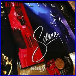 Selena Quintanilla Selena LIVE Gold Record Sales Music Award LP Vinyl