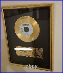 Shannon RIAA Gold Award Plaque Latin Freestyle Dance