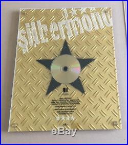 Silbermond Gold Award (goldene Schallplatte) Verschwende Deine Zeit 1. Album
