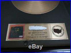 Slayer Gold Award mega rar Metallica no shirt patch vinrage Judas priest