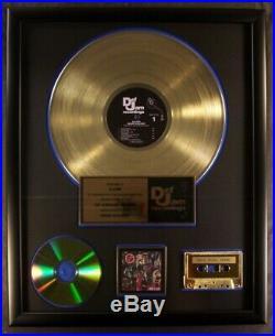 Slayer Reign Of Blood LP, CD, CS Gold Non RIAA Record Award Def Jam Records
