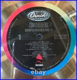 Smithereens RIAA Gold Record Award