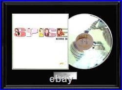Spice Girls Debut White Gold Platinum Tone Record Lp Album Rare Non Riaa Award