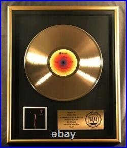 Steely Dan Aja LP Gold RIAA Record Award ABC Records