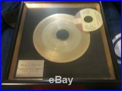 Stevie Wonder 1975 Kdia Gold Record Award Boogie On 45 Nmint Rare Loose Vtg Htf