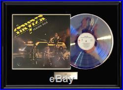 Stryper Album White Gold Silver Platinum Tone Record Lp Not An Riaa Award