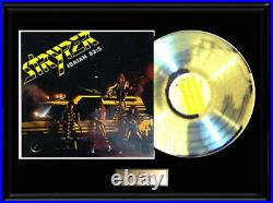 Stryper Soldiers White Gold Silver Platinum Tone Record Lp Not An Riaa Award